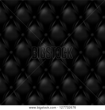Vector Leather background with buttons. Luxury background.. Leather background. Leather background. Vector illustration of  leather background. Vector leather texture. Leather texture.