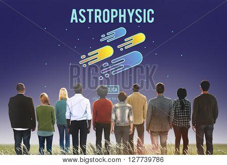 Astrophysics Astronomy Exploration Nebular Concept