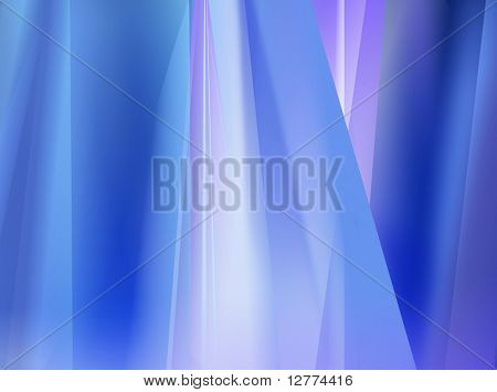 Abstract Blue Lights for Background