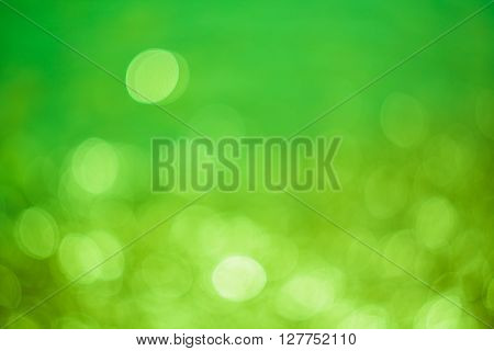 Abstract Background With Natural Optical Bokeh