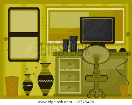 Home Office - Vector