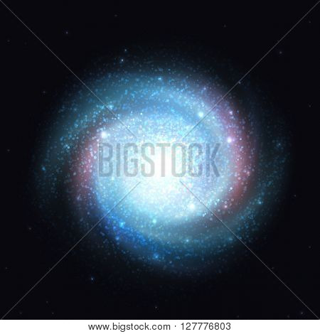 Galaxy effect. Spiral galaxy realistic. Clusters of stars planets. Spiral galaxy. Galaxy template. Milky Way Galaxy . Galaxy background. Element galaxy. Galaxy realistic with transparency.