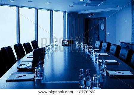 Conference Hall Interior, Monochromatic