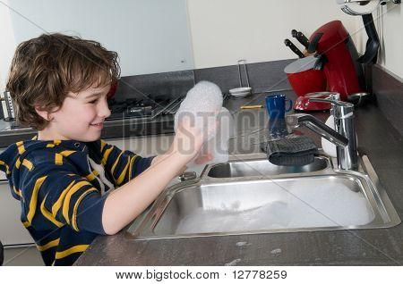 Having Fun With Soap