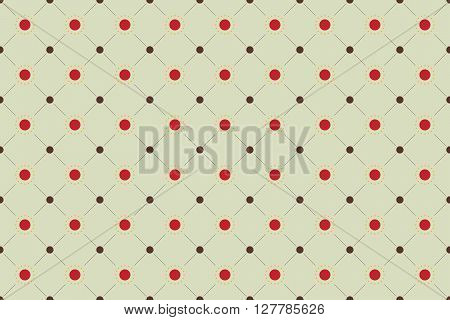 Sun Seamless Pattern Background. Sun Pattern Design. Vector Stock.