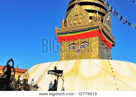 Eye of Boudhanath Stupa