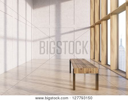 Bench In Interior Side