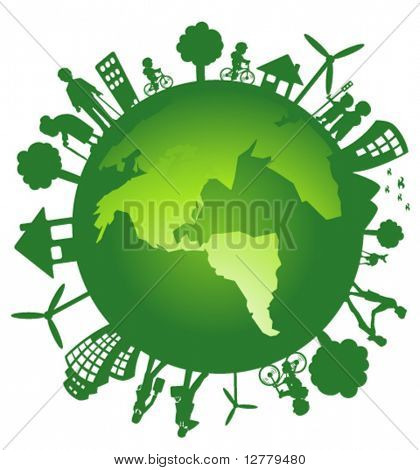 Green Earth poster