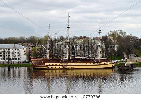 Tallship At The Pier