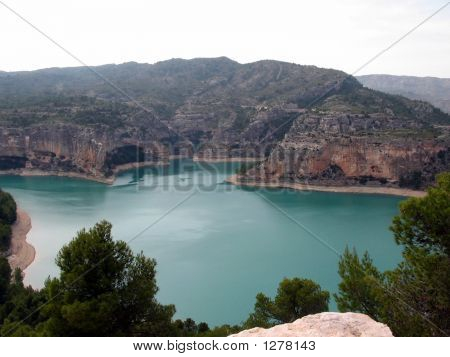 Reservoir In South East Spain
