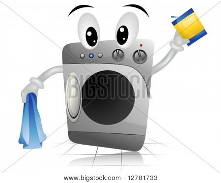 Washing Machine - Vector