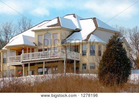 Luxury Home In Winter