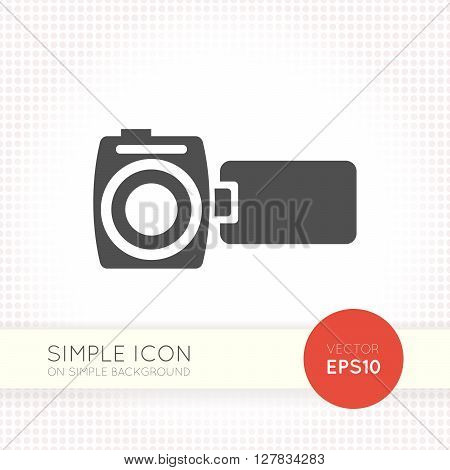 modern video camera icon, video camera icon eps, video camera icon illustration, video camera icon vector, video camera icon flat, video camera icon, video camera web icon, video camera icon art