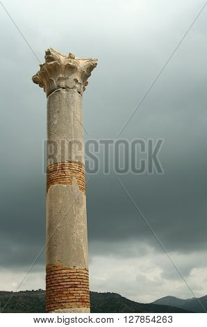 Roman town Volubilis in Morocco near Meekness