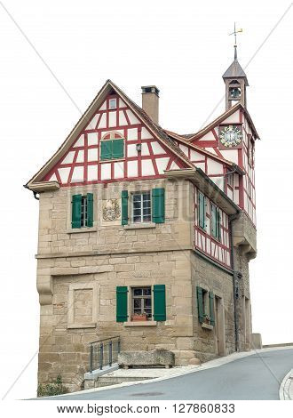 historic bakehouse in Forchtenberg a small town in Hohenlohe located in Southern Germany