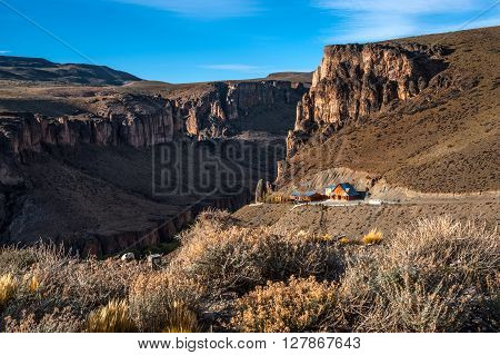 Pinturas River Canyon And The Cave Of The Hands - Argentina