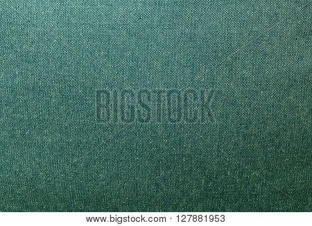 Fabric Texture Close Up of Green Denim Texture Pattern Background.