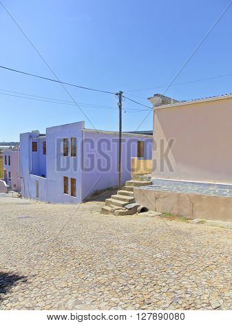 Bo Kaap District in Cape Town, Western Cape Province, South Africa