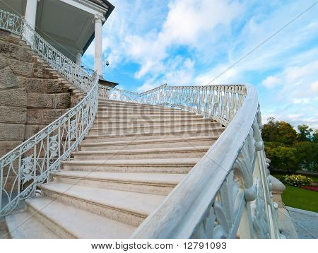 Old-fashioned Stairway