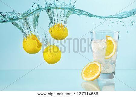 Fresh  Lemonade Concept