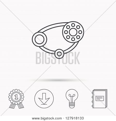 timing belt icon vector photo free trial bigstock