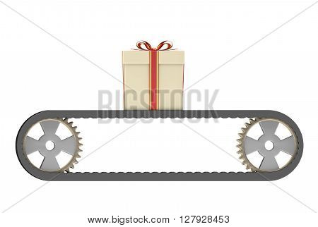 Conveyer Belt And Gift