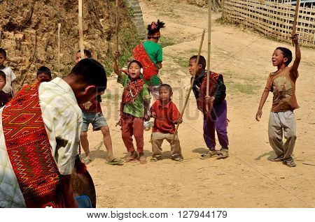Small Warriors In Nagaland, India