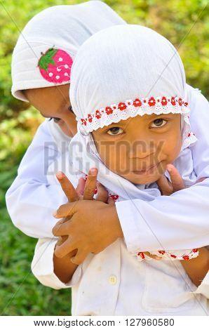 Children In White