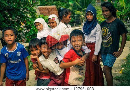 Posing Children