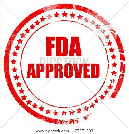FDA approved background