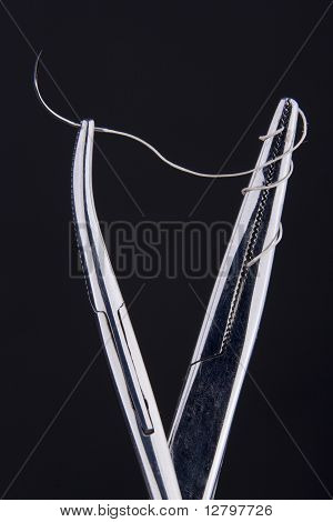 Hemostats with Suture Kit