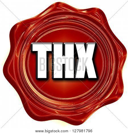 thx internet slang