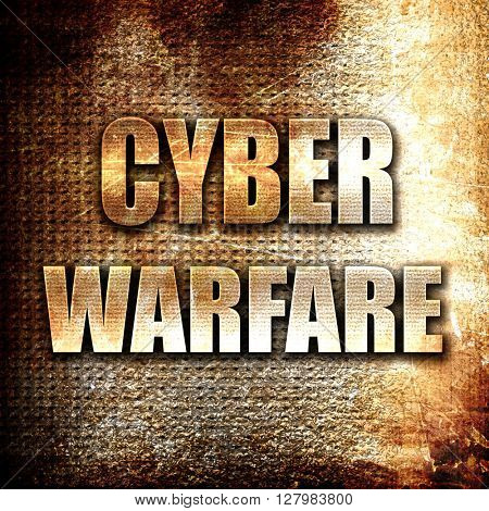 Cyber warfare background