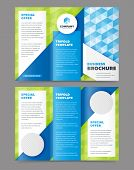 Tri fold brochure design. Design folding brochure. Tri fold template. Flyer layout. Creative trifold brochure. Tri fold design. Cover design concept. Tri fold cover and inside page. Advertising brochure template. Trifold. poster