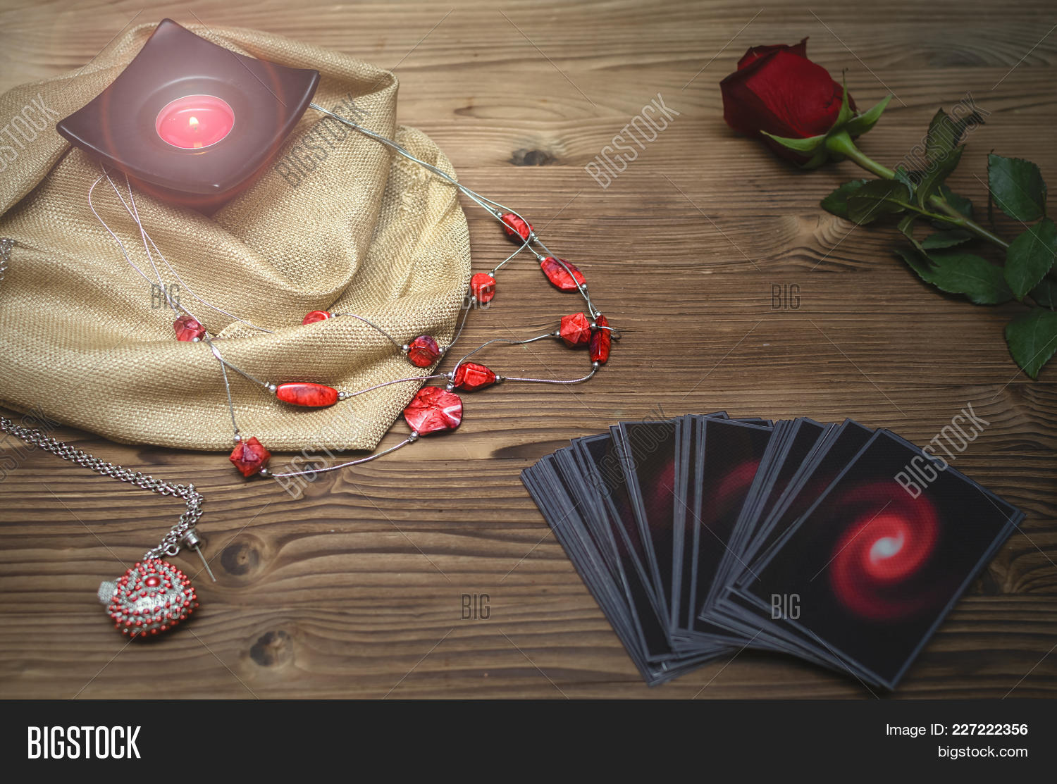 Tarot Cards Rose Image & Photo (Free Trial) | Bigstock