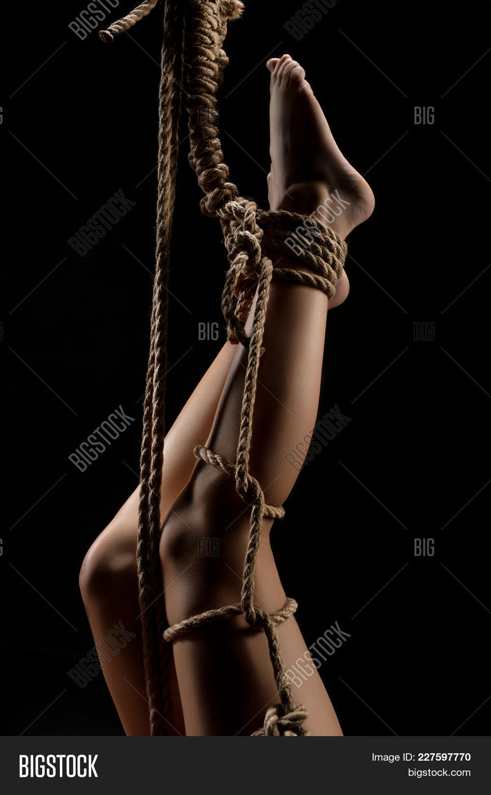 Pictures of black girls tied up naked opinion