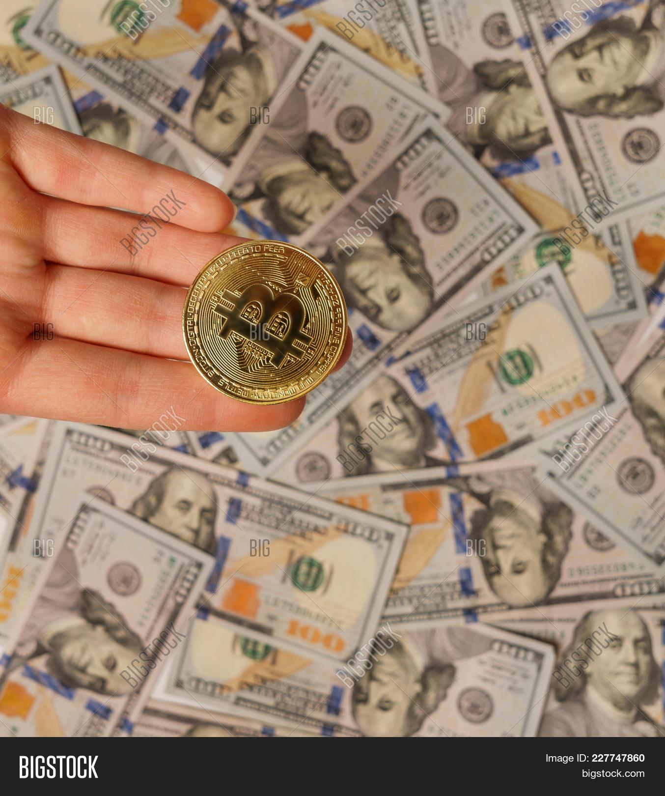 Bitcoin Dollar Btc Image Photo Free