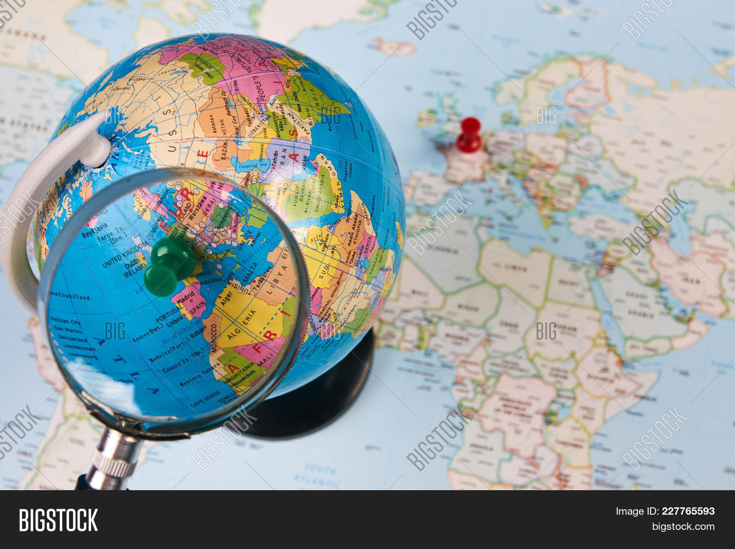 Planing Travel France Image & Photo (Free Trial) | Bigstock