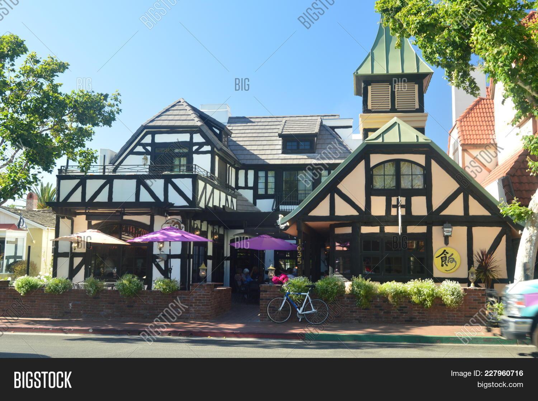 Restaurants Solvang Image Photo Free Trial Bigstock