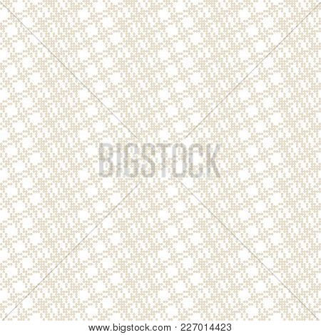 Vector Seamless Pattern. Abstract Small Dotted Textured Background. Modern Minimal Texture With Smal