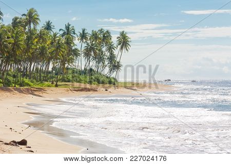Sri Lanka, Asia, Rathgama - Lovely Natural Beach Landscape Of Rajgama Aka Rathgama
