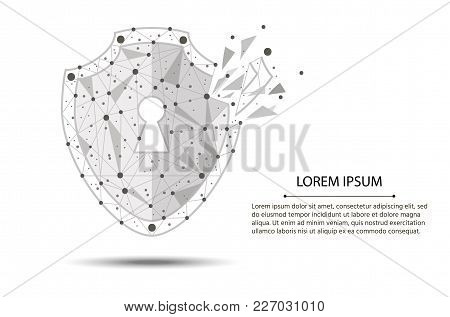 Security Violation - Infographical Concept. Graphic Design On The Theme Of Cyber-security Technology