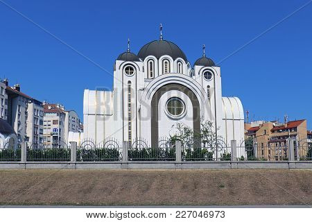 Saint Petka Church Exterior In Belgrade Serbia