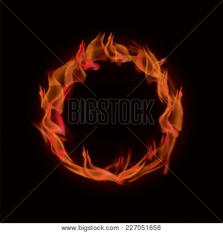 Realistic Vector Ring Of Fire