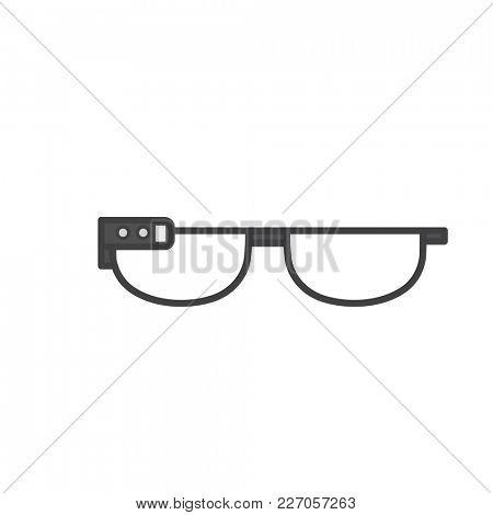 Illustration of eyeglasses