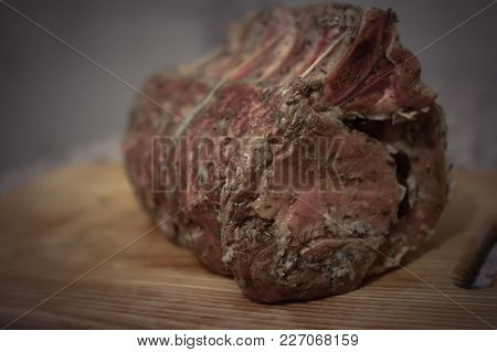 Pork, Bacon, Brisket On The Bone, Crude Brisket On The Bone, Meat, Beef, Brisket, Lamb, , Food, Fres