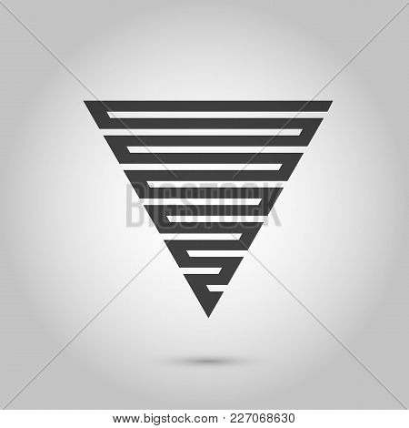 Vector Hipster Triangle Background . Poster With Different Elements. Abstract Geometrical Poster. Mo