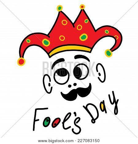 Happy April Fool S Day Funny Humor Illustration
