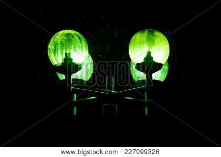 Lantern, Burning Green Light, In The Dark, For Any Purpose