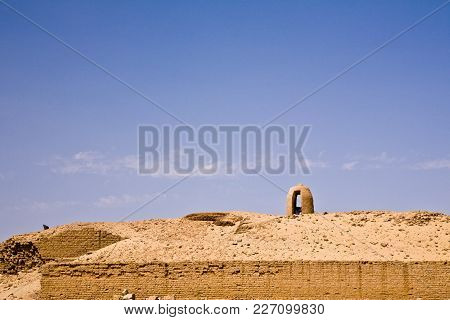 A Police Guard Tower At Kom Ombo, Egypt
